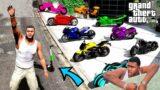 GTA 5 : Collecting Rare Billionaire Superbikes in GTA 5   GTA V GAMEPLAY (GTA 5 mods)