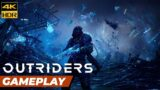 Outriders Gameplay 4K HDR 60FPS