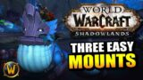 3 Easy Ardenweald Mounts You Need to Get!! // World of Warcraft: Shadowlands