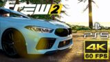 4K 60FPS Gameplay + PS5 – The Crew 2