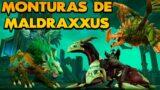 7 Monturas de Maldraxxus y COMO CONSEGUIRLAS! | WoW Shadowlands