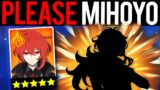 ALL I WANT IS DILUC PLEASE MIHOYO! – Genshin Impact