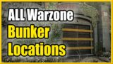 All Bunker Locations in Call of Duty Warzone (Bunkers 0 11)