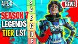 An APEX PREDATORS Season 7 LEGENDS TIER LIST! (WORST TO BEST) – Apex Legends