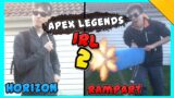 Apex Legends IRL: ALL Character Animations In Real Life!! #2 (Season 6 & 7)