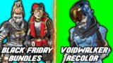 Apex Legends Offensive Caustic Voice Line + Black Friday Bundles + Voidwalker Recolor