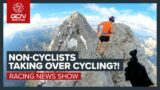 Are Non-Cyclists Taking Over Pro Cycling? Mathieu van der Poel Beaten?! | GCN's Racing News Show