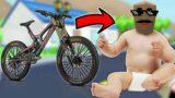 BABY JACK GOT A BICYCLE   SASTI GTA V   DUDE THEFT WARS   GamerzZuana