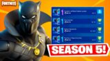 BLACK PANTHER QUESTS OUT NOW in Fortnite!
