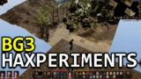 Baldur's Gate 3: Hax, glitching, out of bounds & more experiments (Early Access)