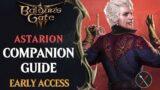 Baldur's Gate 3 Early Access Companions Guide: Astarion