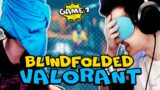 C9 Blue Were Challenged To 1v1 In VALORANT BLINDFOLDED… ft. TenZ, Shinobi, Relyks, mitch
