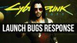 CD Projekt's RESPONSE to Cyberpunk 2077 Launch Problems & Bugs