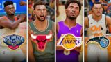 CONTACT DUNK With BEST NBA Dunkers In NBA 2K21! (PS5 / XSX CONTACT DUNKS GAMEPLAY)