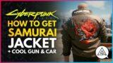 CYBERPUNK 2077 | How to Get the SAMURAI JACKET + Iconic Pistol Malorian Arms 3516 & Porsche 911