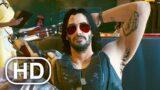 CYBERPUNK 2077 Keanu Reeves All Scenes (Johnny Silverhand Cutscenes)