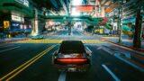CYBERPUNK 2077 Mizutani Sports Car FREE ROAM Driving GAMEPLAY (4K 60FPS)