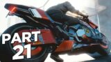 CYBERPUNK 2077 Walkthrough Gameplay Part 21 – BIKE (FULL GAME)