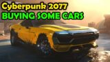 CyberPunk 2077 Buying Some Cars $$$