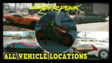 Cyberpunk 2077 All Vehicle Locations available for purchase (Autojock Trophy / Achievement Guide)
