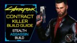 Cyberpunk 2077 Builds: Contract Killer (Stealth Assassin) Character Guide Weapons Perks