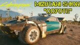 "Cyberpunk 2077 Cars – MIZUTANI SHION ""COYOTE"""