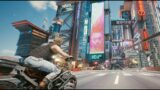 Cyberpunk 2077 Driving in Night City PC gameplay Ray Tracing 4K Ultrawide 21:9