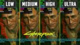 Cyberpunk 2077 – GTX 1070 – All Graphics Settings – FPS Comparison – 1080p 60FPS