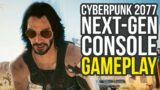 Cyberpunk 2077 Gameplay On Next-Gen Console – Opening Hours (Xbox Series X)