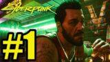 Cyberpunk 2077 Gameplay Walkthrough Part 1 ( Xbox Series X)