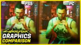 Cyberpunk 2077 Graphics Comparison – PS5 vs PC (Ultra settings)