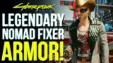 Cyberpunk 2077 – How To Get the Secret Legendary Nomad/Fixer Outfit for free (Cyberpunk 2077 Tips)