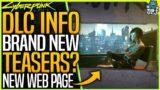 Cyberpunk 2077: NEW DLC TEASER? – FREE DLC 2021 WEBPAGE – Latest News – 13 Mil Copies Sold & More