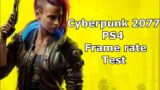 Cyberpunk 2077 – PS4 Frame Rate Test Gameplay (Patch / Update 1.02)
