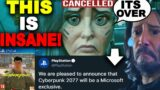 Cyberpunk 2077 is CANCELLED FOREVER! Sony Is DONE With CD Projekt Red!