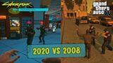Cyberpunk 2077 vs GTA IV   Game Mechanics Comparison