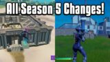 Everything New In Fortnite Chapter 2 Season 5! – Battle Pass, Map, Weapons, & More!
