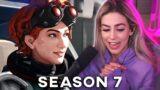 FIRST GAMES OF SEASON 7 APEX – THE L-STAR IS INSANE!   Apex Legends Highlights
