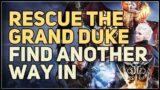 Find another way in Rescue the Grand Duke Baldur's Gate 3