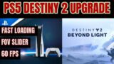 First Impressions Destiny 2 – PS5 NEW UPGRADES 60FPS/120 FPS Crucible/FOV SLIDER NEW PATCH 3.0.1