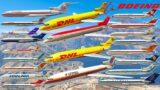 GTA V: Boeing 727-200 Passenger & Cargo Airplanes Test Flight Gameplay