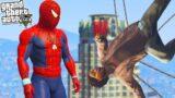 GTA V- Car Thief City Spider-Man