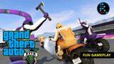 GTA V | FUNNY GAMEPLAY MOMENTS & SLIPSTREAM RACE