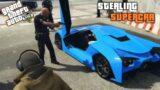 GTA V- Stealing cops super cars