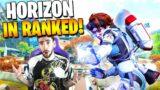 How Is HORIZON, But In RANKED On OLYMPUS? (Apex Legends Season 7!)