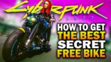 How To Get The Best FREE Secret Motorcycle In Cyberpunk 2077