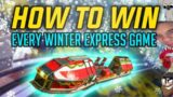 How to Literally Win EVERY WINTER EXPRESS Game (Apex Legends Season 7)