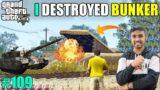 I DESTROYED MAFIA'S SECRET BUNKER   GTA V GAMEPLAY #109