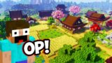 I Found The ULTIMATE JAPANESE VILLAGE In Minecraft!