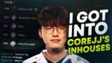 I GOT INVITED INTO COREJJ'S INHOUSES| League of Legends